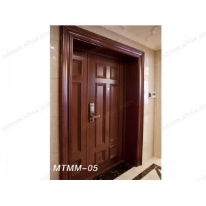 美式家居中高档实木门 纯色系简洁舒适清新原实木门