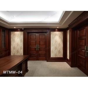 梦天木门 实木复合门 实木中式 木门实木烤漆门
