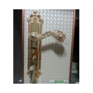 卧室门锁 室内门锁套装 静音实木门