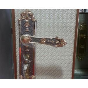 欧式静音门锁 室内卧室房门锁 三件套