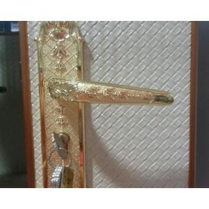 欧式复古门锁 卧室门把手三件套