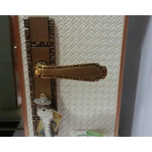 香河刘氏锁具 门锁室内卧室房门 锁具简约锁