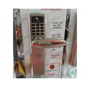指纹锁 智能锁 密码电子刷卡门禁双开门
