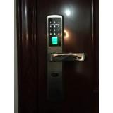 指纹锁密码锁刷卡锁