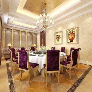 香河海昌假日酒店 高档餐厅设施 餐厅房间