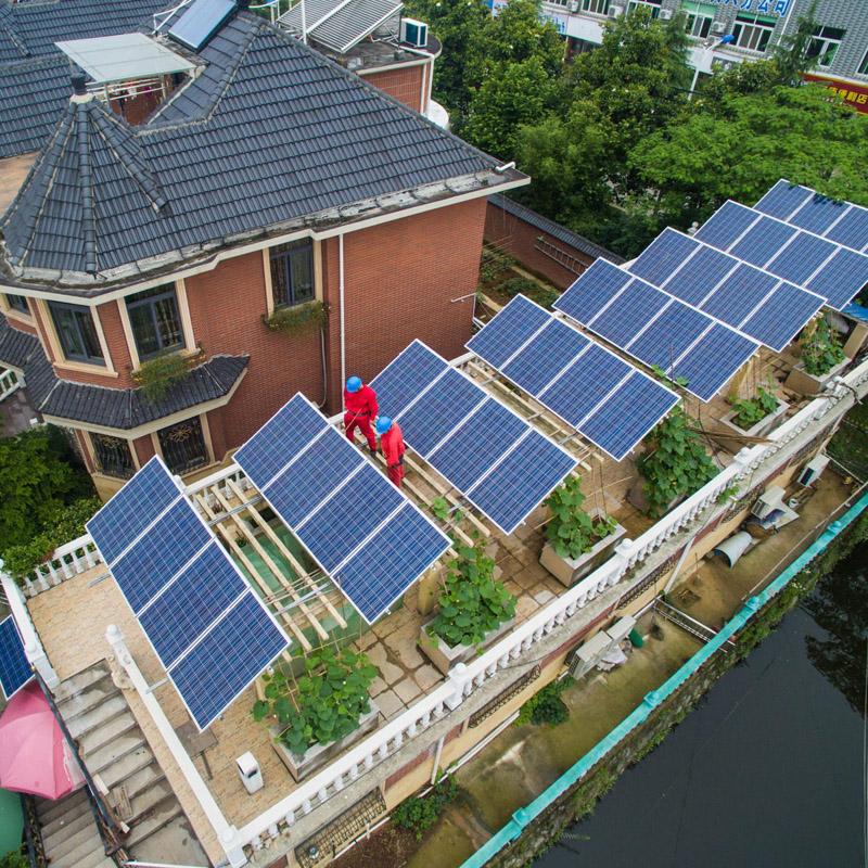 香河新能源 家庭安装发电 光伏系统