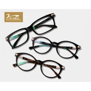 香河大视界罗马假日女款复古近视眼镜 多种款式任你选择