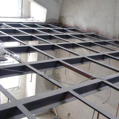 赤峰车库二层焊接03