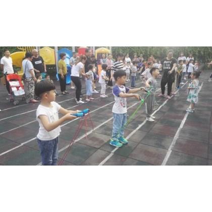圣恩乐思笆学园'庆六一、艺术月'跳绳比赛