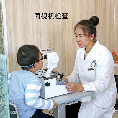 香河大视界眼镜店 同视机检查
