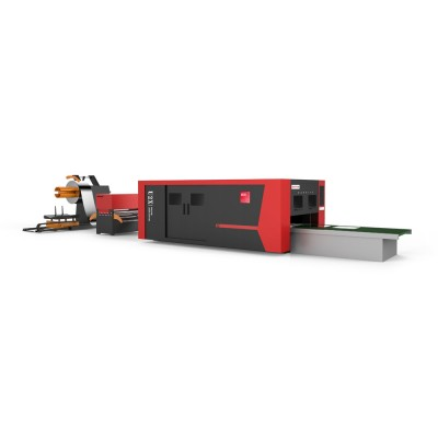 U2X卷板激光切割生产线