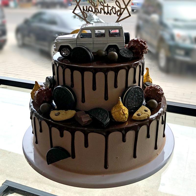 双层鲜奶盛宴生日蛋糕05#