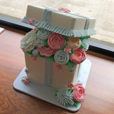 梦幻翻糖蛋糕 花卉蛋糕 06#