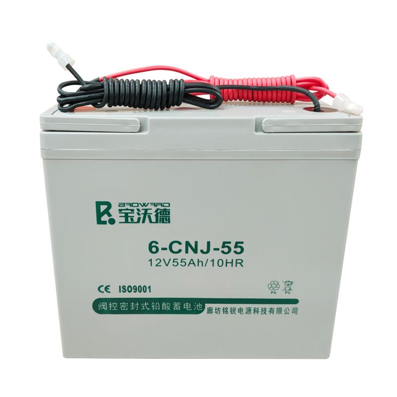 阀控密闭式铅酸蓄电池6-CNJ-55