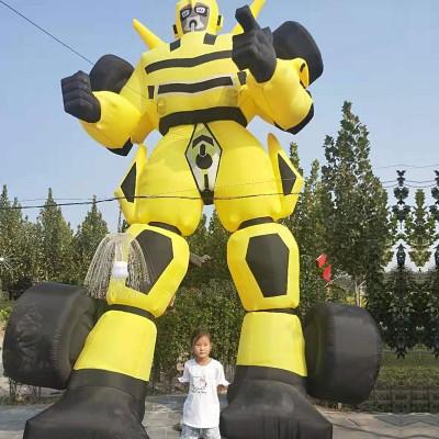 香河杨家寨主题乐园机器人
