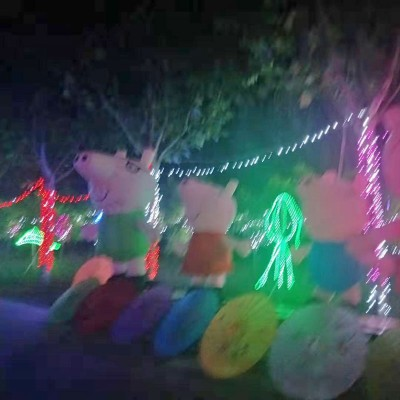 香河杨家寨主题乐园夜景观光区