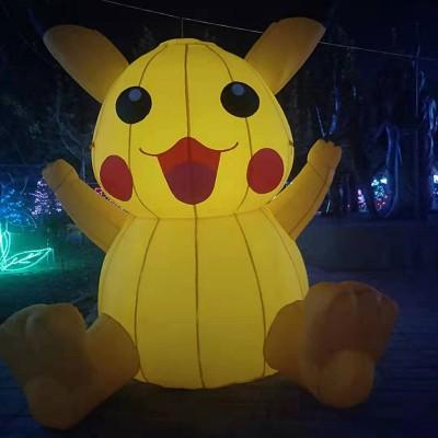 香河杨家寨主题乐园夜景观光游览