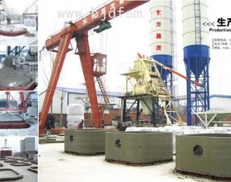 混凝土预制芯模振捣设备生产过程